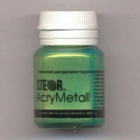Steor  M6V20/STEOR AcryMetall Золото зеленое светлое 20мл