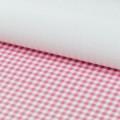 Stilerra 09 Упаковочная бумага односторонняя, клетка/ розовый (глянцевая)