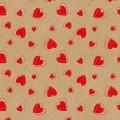 """Stilerra GKP-03/03 Упаковочная бумага-крафт, цвет: 03 """"Сердечки"""""""