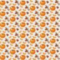 """Stilerra GWL-01/10 Упаковочная глянцевая бумага """"Мандарины"""""""