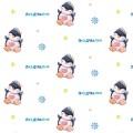 """Stilerra GWL-02/15 Упаковочная глянцевая бумага, цвет 15  """"Пингвинчики"""""""