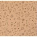 """Stilerra WAP-01/MIX 4-2 Упаковочная бумага """"Каникулы"""""""
