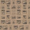 """Stilerra WAP-02/06 Упаковочная бумага """"Новогодние марки"""""""