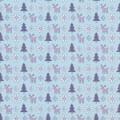 """Stilerra WAP-02/07 Упаковочная бумага """"Stilerra"""" WAP-02, 100 х 70 см, (07) Новогодние мотивы"""