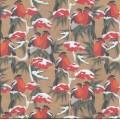 """Stilerra WAP-02/10 Упаковочная бумага """"Stilerra"""" WAP-02, 100 х 70 см, (10) Снегири (офсетная)"""