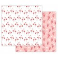 Stilerra WPD-02-14 Двухсторонняя упаковочная бумага глянцевая №14 фламинго