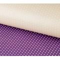 Stilerra WPD-02/16 Двухсторонняя упаковочная бумага глянцевая, цвет 16 горошек/бежевый, фиолет.