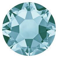 Сваровски 2078 Стразы клеевые Swarovski 2078 SS12 цветн. 3.2 мм кристалл 1 шт св.бирюзовый (lt.turquoise 263)