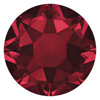 Сваровски 2078 Стразы клеевые Swarovski 2078 SS12 цветн. 3.2 мм кристалл 1 шт т.красный (siam 208)