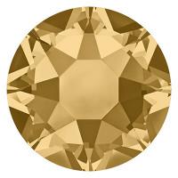 Сваровски 2078 Стразы клеевые Swarovski 2078 SS16 цветн. 3.9 мм кристалл 1 шт золото (lt.colorado topaz 246)