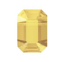 """Сваровски 5514 Бусина стеклянная """"Сваровски"""" 5514 Crystal AB 10.0 x 7.0 мм кристалл золотистый металлик (001 METSH) 1шт"""