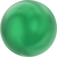 """Сваровски 5810 Бусина стеклянная """"Сваровски"""" 5810 10 мм 5 шт в пакете под жемчуг кристалл изумрудный (eden green 2014)"""