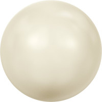 """Сваровски 5810 Бусина стеклянная """"Сваровски"""" 5810 10 мм 5 шт в пакете под жемчуг кристалл кремовый (cream 620)"""