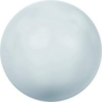 """Сваровски 5810 Бусина стеклянная """"Сваровски"""" 5810 10 мм 5 шт в пакете под жемчуг кристалл нежно-голубой (blue 966)"""
