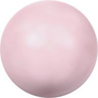"""Сваровски 5810 Бусина стеклянная """"Сваровски"""" 5810 10 мм 5 шт в пакете под жемчуг кристалл нежно-розовый (rose 944)"""