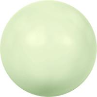 """Сваровски 5810 Бусина стеклянная """"Сваровски"""" 5810 10 мм 5 шт в пакете под жемчуг кристалл нежно-салатовый (green 967)"""