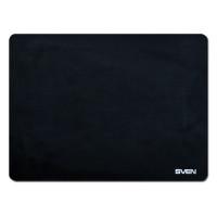 SVEN SV-009885 Коврик для мыши SVEN HC-01-03, микрофибра + резина, 300х225х1,5 мм, черный, SV-009885
