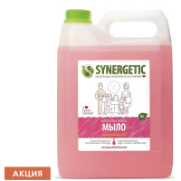 "SYNERGETIC 105504 Мыло жидкое 5 л SYNERGETIC, ""Аромамагия"" гипоаллергенное, биоразлагаемое, ЭКО, 105504"