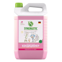 "SYNERGETIC 110500 Кондиционер-ополаскиватель для белья 5 л SYNERGETIC ""Аромагия"", гипоаллергенный, концентрат, 110500"