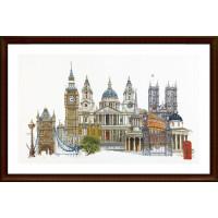 """Thea Gouverneur 00000033042 Набор для вышивания """"Thea Gouverneur"""" 0470 London/Лондон"""