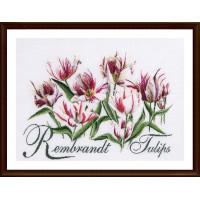"""Thea Gouverneur 00000041543 Набор для вышивания """"Thea Gouverneur"""" 0447 Rembrandt Tulips,59х43 см"""