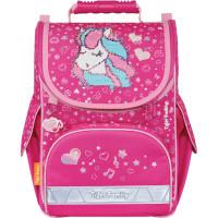"TIGER FAMILY  Ранец TIGER FAMILY для начальной школы, Nature Quest, ""Musical Pony"" (Pink), 35х31х19 см, 270208"
