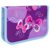 """TIGER FAMILY TGCP-007C1E Пенал TIGER FAMILY 1 отделение, ткань, """"Rhythmic Butterfly"""", 20х14х4 см, 228956, TGCP-007C1E"""