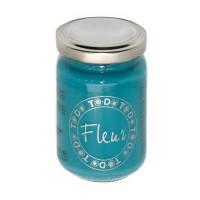"To-Do FLEUR Краска акриловая ""To-Do"" матовая FLEUR 130 мл  12102 ярко-голубой"