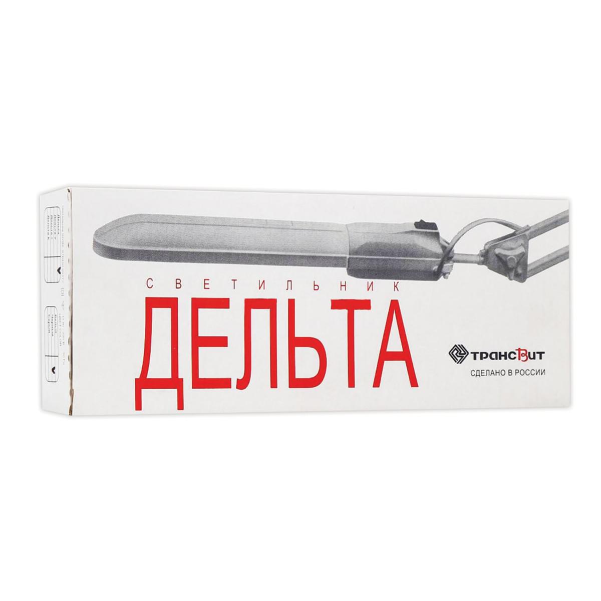 """Светильник настольный """"Дельта +"""", на подставке, люминесцентный, 11 Вт, черный, высота 70 см, 2G7"""