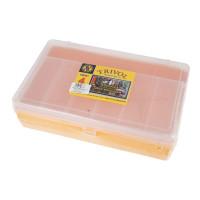 """Тривол №4 """"Тривол"""" Коробка для мелочей пластик №4 желтый"""