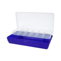 """Тривол №5 """"Тривол"""" Коробка для мелочей пластик №5 т-синий"""