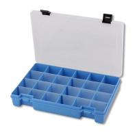 """Тривол №7 """"Тривол"""" Коробка для мелочей пластик №7 голубой"""