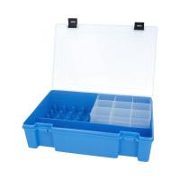 """Тривол №8 """"Тривол"""" Коробка для мелочей пластик №8 голубой"""
