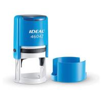 TRODAT 125310 Оснастка для печати оттиск D= 42 мм, синий, TRODAT IDEAL 46042, подушка, корпус синий, 125310