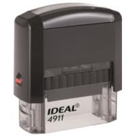 TRODAT 125417 Оснастка для штампа, размер оттиска 38х14 мм синий, TRODAT IDEAL 4911 P2, подушка в комплекте, 125417