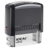 TRODAT 125420 Оснастка для штампа, размер оттиска 47х18 мм, синий, TRODAT IDEAL 4912 P2, подушка в комплекте, 125420