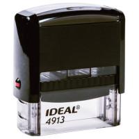 TRODAT 125423 Оснастка для штампа, размер оттиска 58х22 мм, синий, TRODAT IDEAL 4913 P2, подушка в комплекте, 125423