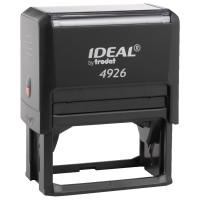 TRODAT 125432 Оснастка для штампа, размер оттиска 75х38 мм, синий, TRODAT IDEAL 4926 P2, подушка в комплекте, 125432