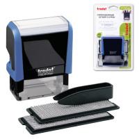 TRODAT 4913/DB Штамп самонаборный 5-строчный, размер оттиска 58х22мм, синий без рамки, TRODAT 4913P4/DB, КАССЫ В КОМПЛЕКТЕ, 4913/DB
