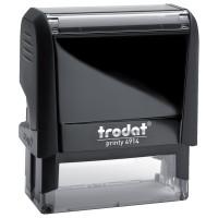 TRODAT 52826 Оснастка для штампа, размер оттиска 64х26 мм, синий, TRODAT 4914 P4, подушка в комплекте, 52826