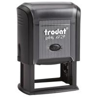 TRODAT 53063 Оснастка для штампа, размер оттиска 50х30 мм, синий, TRODAT 4929, подушка в комплекте, 53063