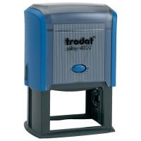 TRODAT 53117 Оснастка для штампа, размер оттиска 60х40 мм, синий, TRODAT 4927, подушка в комплекте, 53117