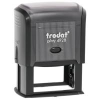 TRODAT 53122 Оснастка для штампа, размер оттиска 60х33 мм, синий, TRODAT 4928, подушка в комплекте, 53122