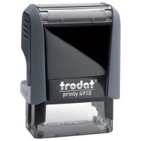 TRODAT 56876 Оснастка для штампа, размер оттиска 26х9 мм, синий, TRODAT 4910 P4, подушка в комплекте, 56876