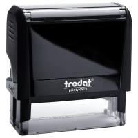 TRODAT 56884 Оснастка для штампа, размер оттиска 70х25 мм, синий, TRODAT 4915 P4, подушка в комплекте, 56884