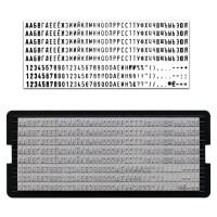 TRODAT 64311 Касса русских букв и цифр, для самонаборных печатей и штампов TRODAT, 328 символов, шрифт 3 мм, 64311
