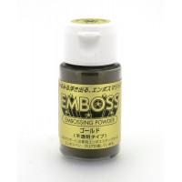 "Tsukineko EP-301 Пудра для эмбоссинга матовая ""Tsukineko"" Золото 30мл"