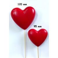 Туендатская мастерская D-031-120 Декоративное изделие из пенопласта СЕРДЦЕ (красное)