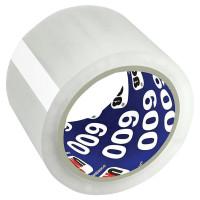 UNIBOB 29357 Клейкая лента упаковочная 72 мм х 66 м, прозрачная, толщина 45 микрон, UNIBOB, 29357