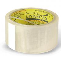 UNIVERSAL 50//66 пр Клейкая лента упаковочная, 48 мм х 40 м, прозрачная, толщина 38 микрон, UNIVERSAL, 50//66 пр